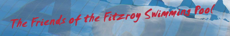 Friends of the Fitzroy Pool banner